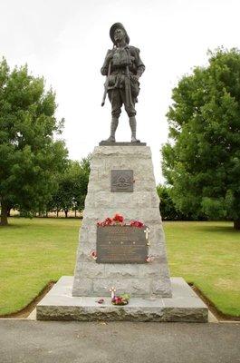 Memorial at Bullecourt - Honouring Australia's sacrifice in WW1