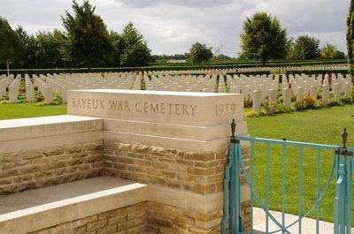 Bayeux Cemetrery - WW11