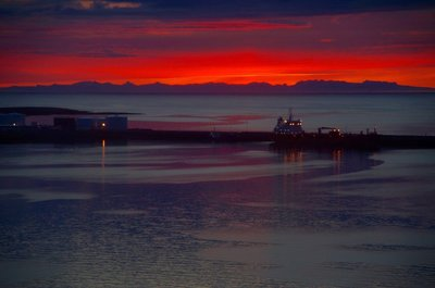 Reykjavik Sunset - Took me a week to find it!