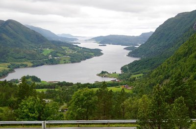 Road from Kristiansund to Molde
