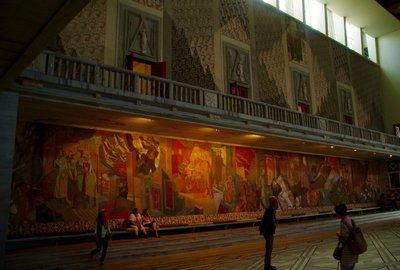 Oslo City Hall - Inside