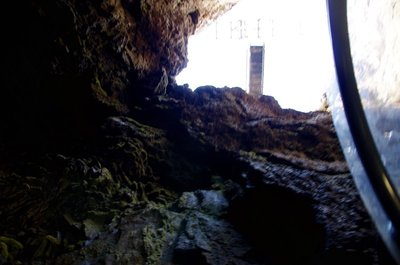 Down the Crevice