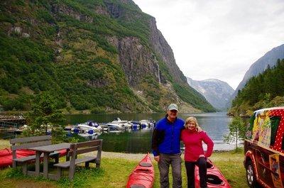 The end of the 3 day trip - Gudvangen