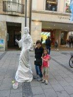 Munich - Femme statue