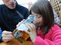 Munich Oktoberfest Paulaner Beer Garden