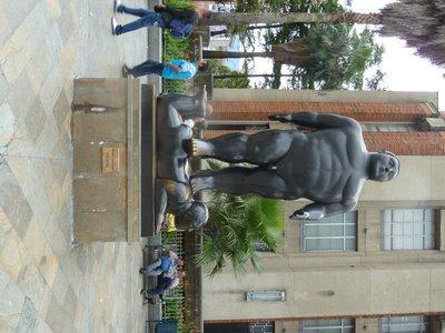 Medallin - Botero sculpture