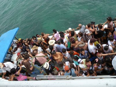 The butlins boat to Playa Blanca