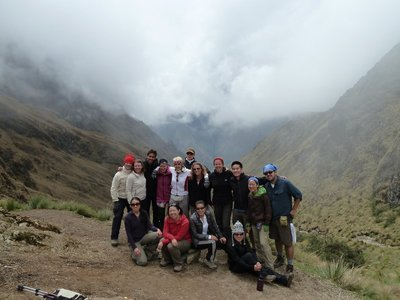 Our group, in the clouds