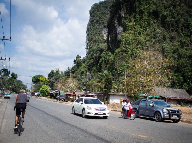 Cycling through Ao Luek