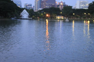 Lumphini park boating lake 1