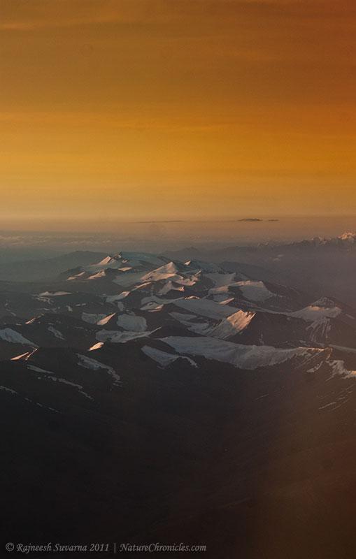 Sunrise Over Ladakh