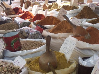the market spices