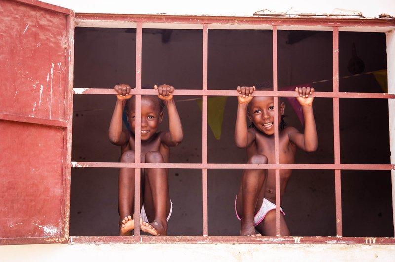 Twins in Mariama Kunda