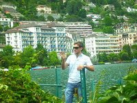 me in Montreux, Switzerland