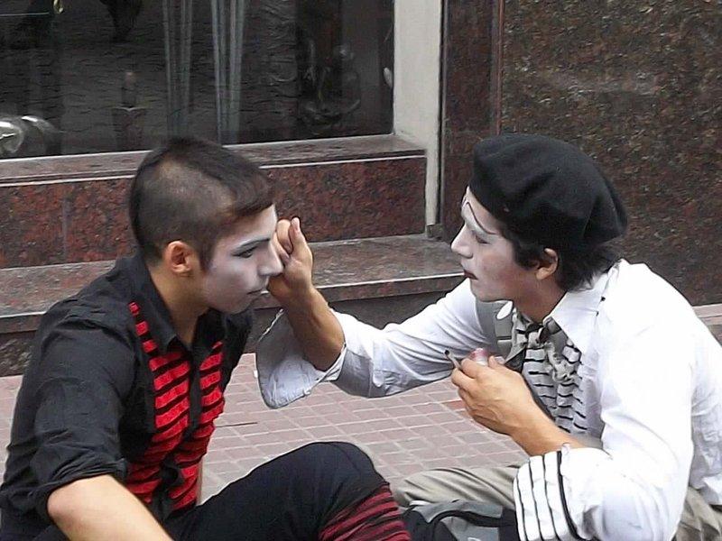 clown preparations