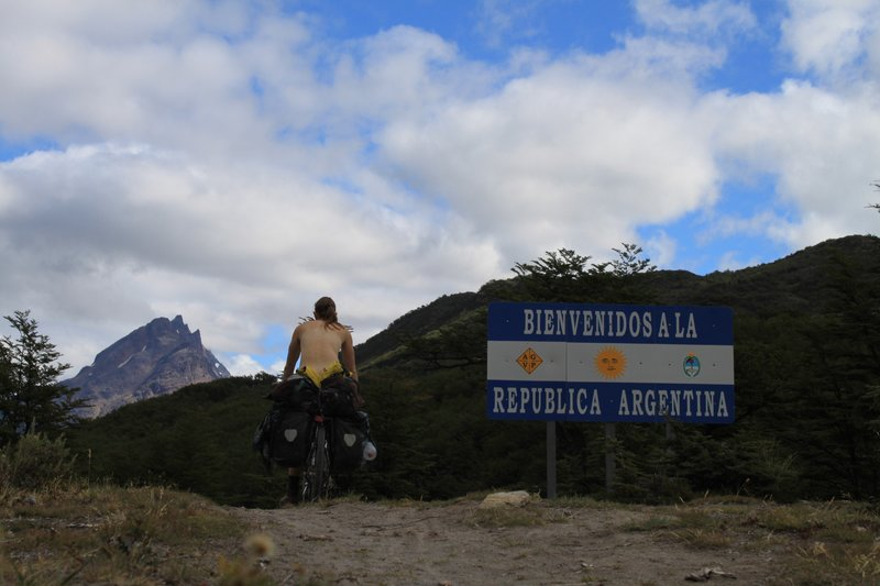 crossing into argentina