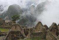 Machu Pichu in the morning