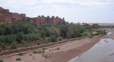 Aït Benhaddou, Morocco.  Hollywood's favorite spot in North Africa