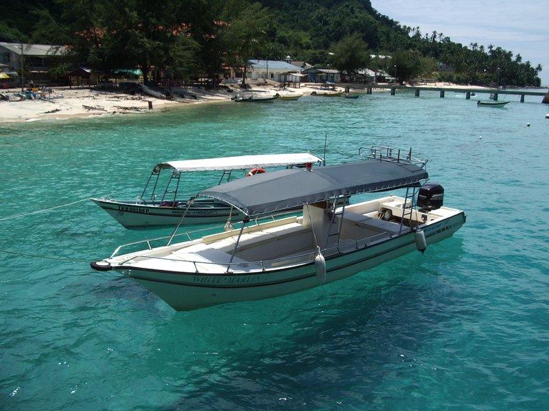 Water Taxis, Perhentian Island, Malaysia