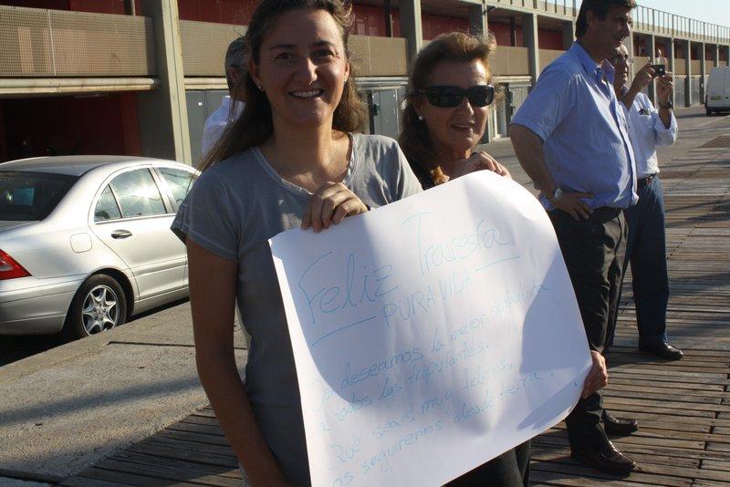 Pancarta de despedida