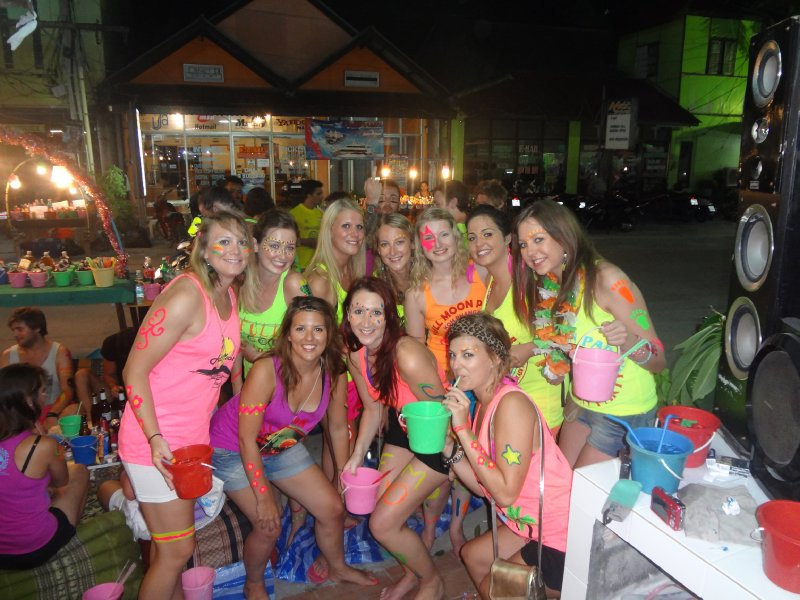 Idea very Full moon party girls think