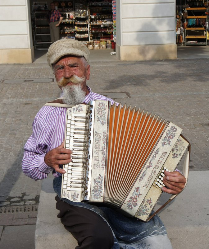 Old Accordianist