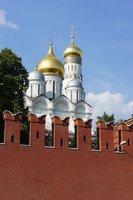 Golden domes in the Kremlin