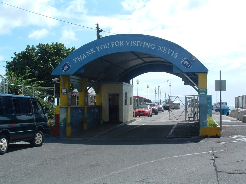 Ferry Dock, Nevis, West Indies