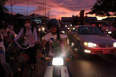 The Street of Phnom Penh