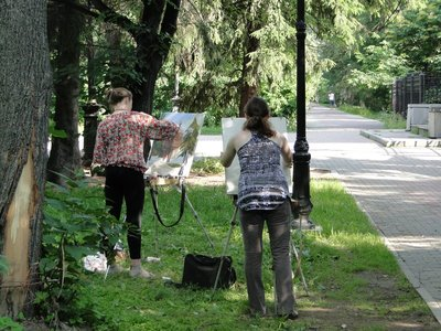 Painters in the Park