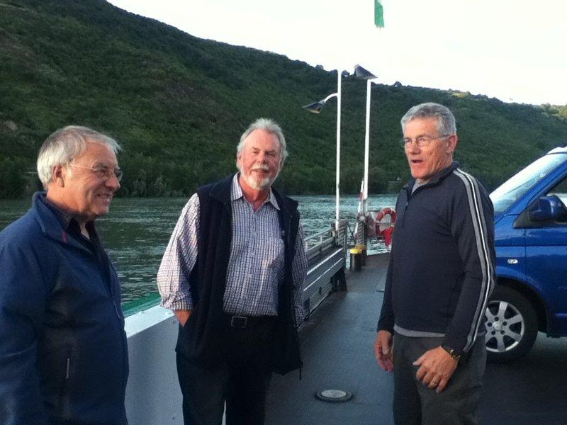 Mike Steve & Tony on Ferry