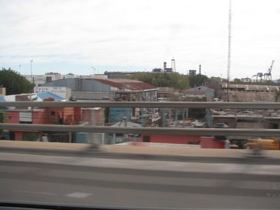 Slum on the way to the airport