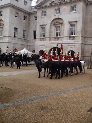 Horse Show in central London