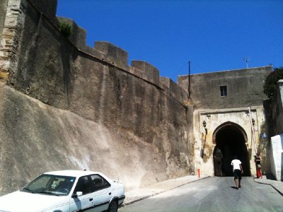 From just inside the ancient fortified walls of the Kasbah