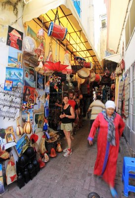We could easily have filled a container or 2 with goodies from the Kasbah markets