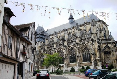 Not sure where this is - it could be anywhere in France - history and beauty is abundant in even the smallest village