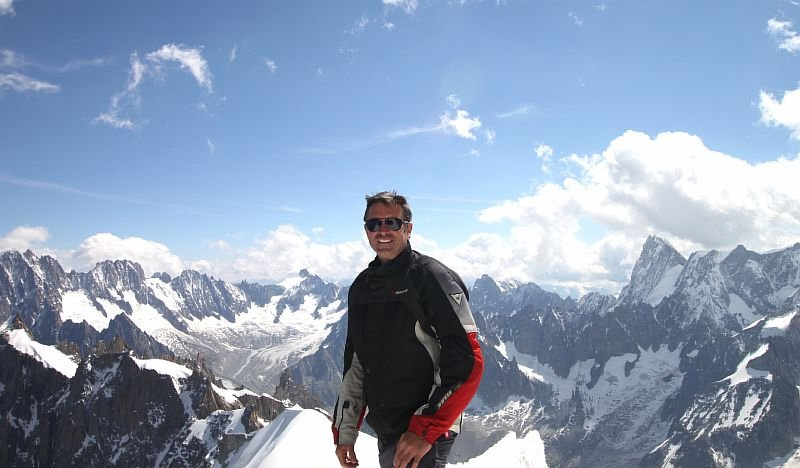 In, on, beneath and around Mont Blanc