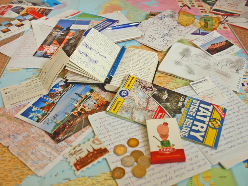 Записки-заметки-рисунки-открытки-магниты-билеты