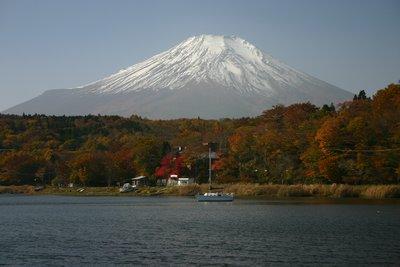 Mt. Fuji and Lake Yamanaka