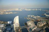 Yokohama Bay from Landmark Tower