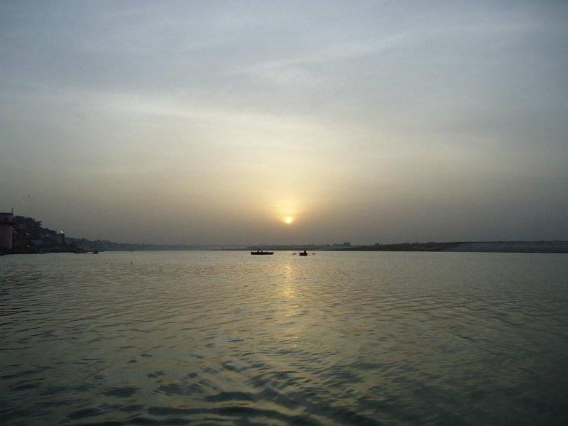 Ganga at Dawn
