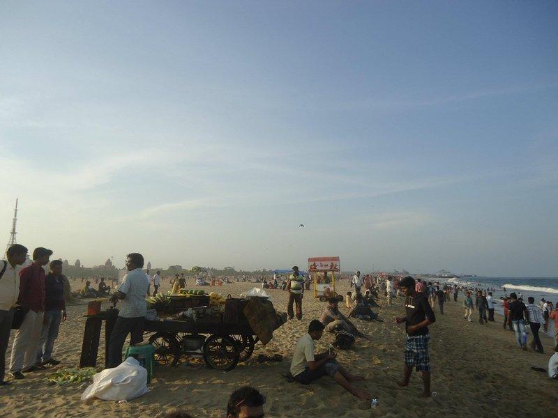 Chennai at sunset