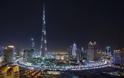 Dubai from Taj Dubai
