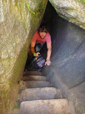 Wayna Picchu tight squeeze