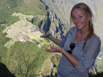 I give you; Machu Picchu