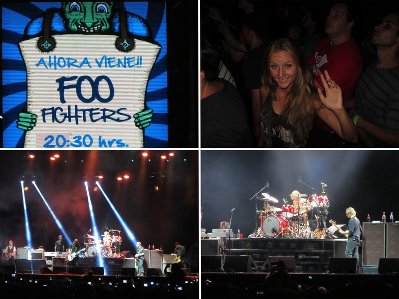 Foo Fighters at Lollapalooza