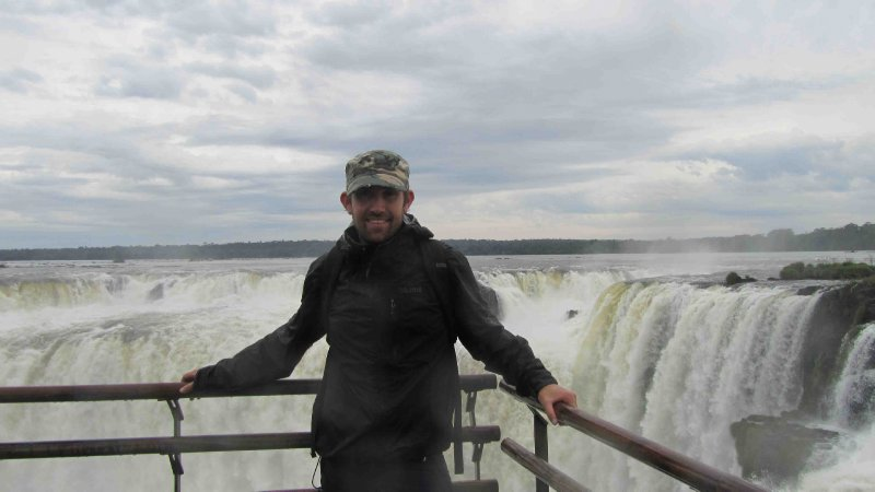 Lach at Iguazu