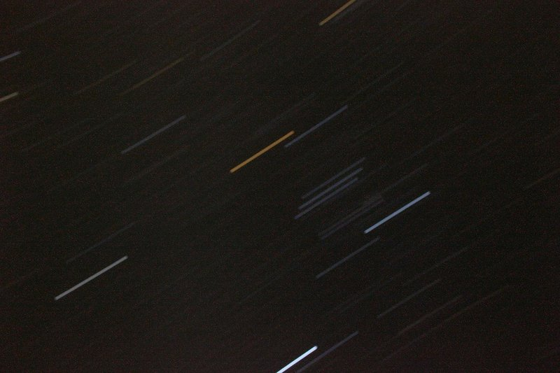 Night skies...timed  shot