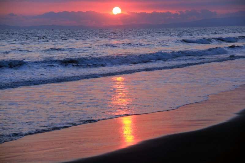 La Barqueta sunset