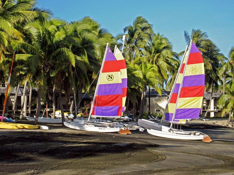 Sailboats at Denarau Island, Fiji